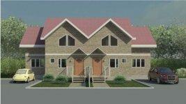 № 15. Сблокированный дом на две семьи. Общая площадь 245 кв.м